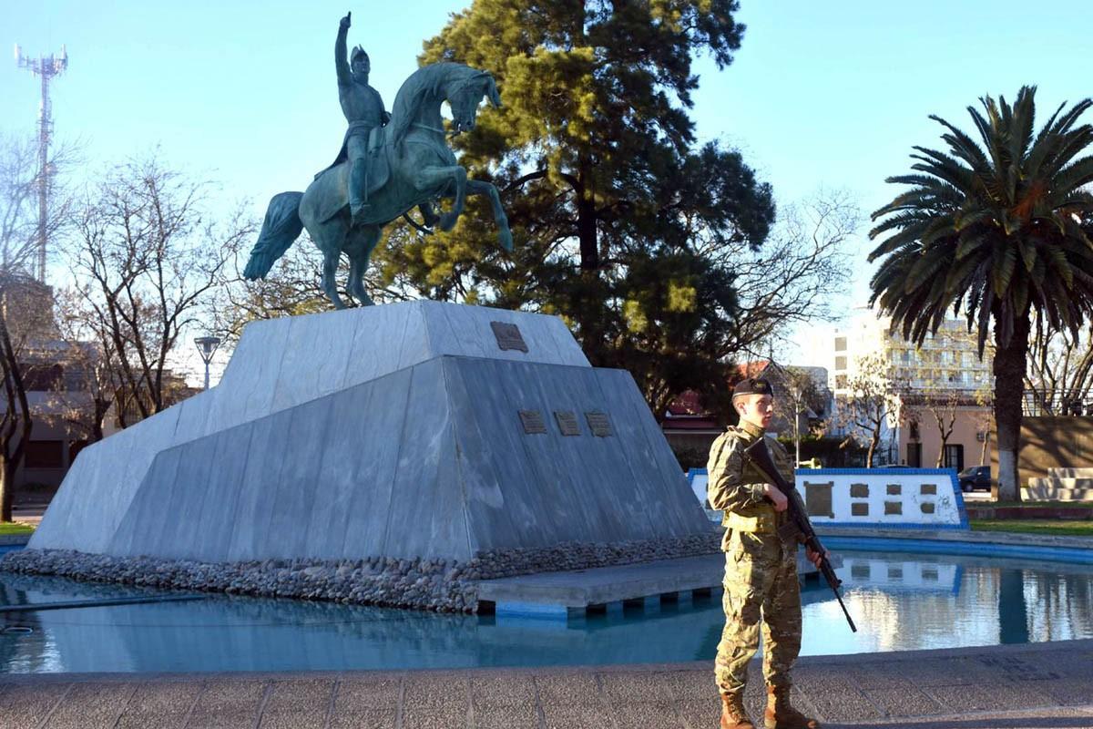 El jueves, acto de homenaje al General San Martín