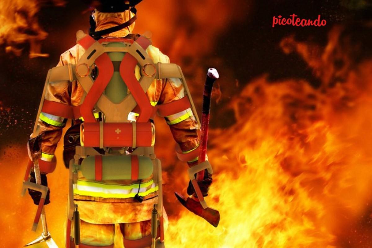 Bomberos rescatan a cerditos de incendio, pero luego se los comen — Facebook