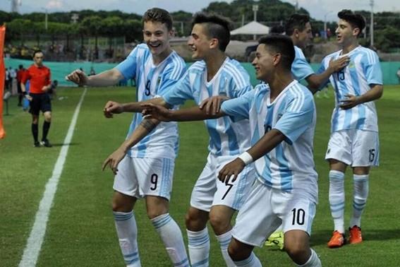 La Roja Sub 15 goleó en el Sudamericano