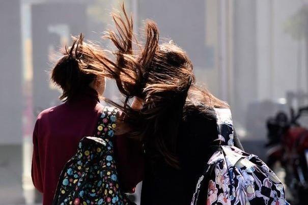 Alerta meteorológico por vientos intensos en altura
