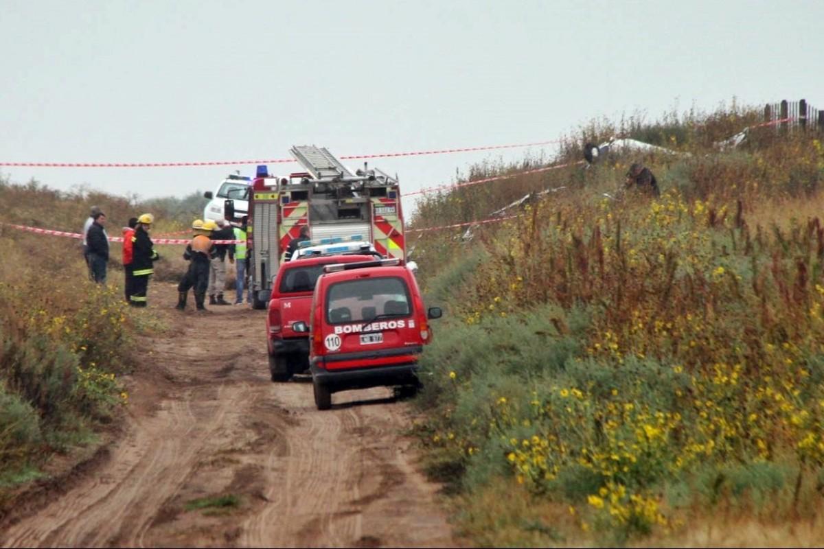 Se estrelló un avión en La Pampa: cinco muertos